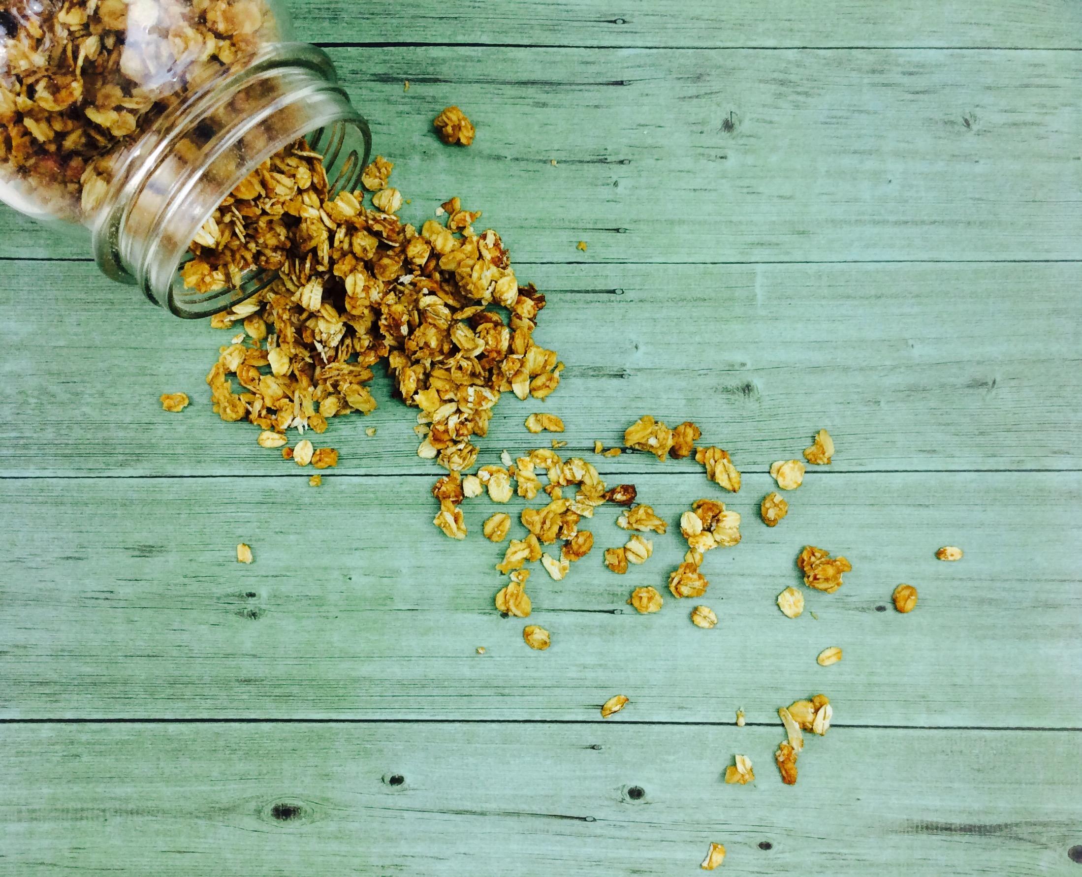 receta-granola-avena-cacahuete-miel-ido
