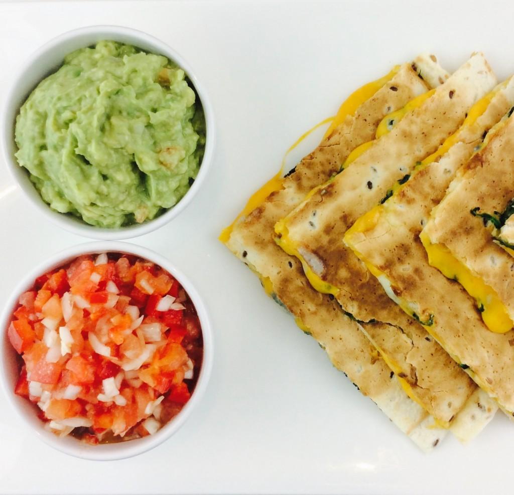 receta-quesadillas-queso y espinacas-ido
