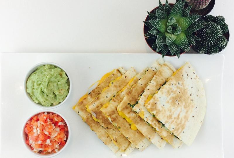 receta-quesadillas-queso y espinacas-ido-destacada