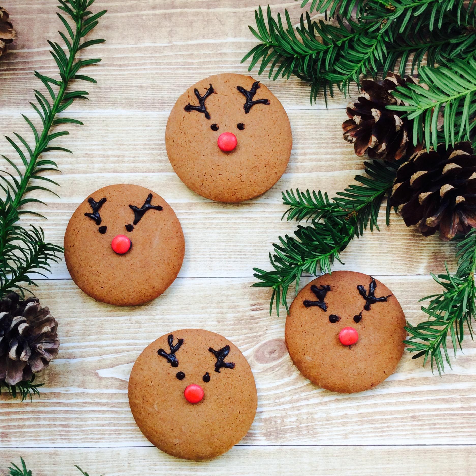 receta-galleta-navidad-reno