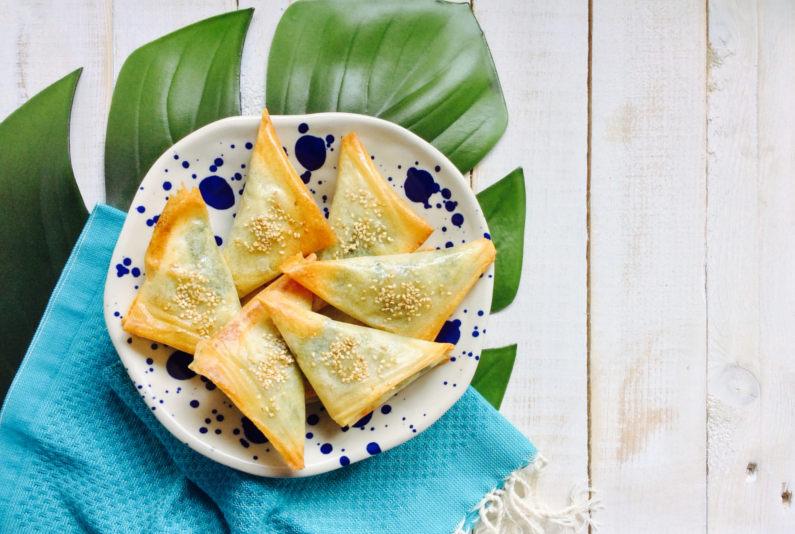 receta-triangulos-de-espinacas-y-queso