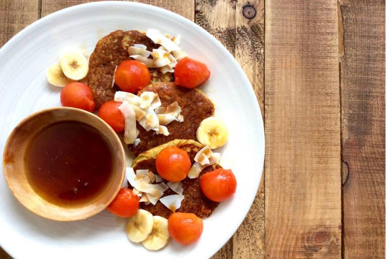 receta-tortitas-de-platano-y-coco
