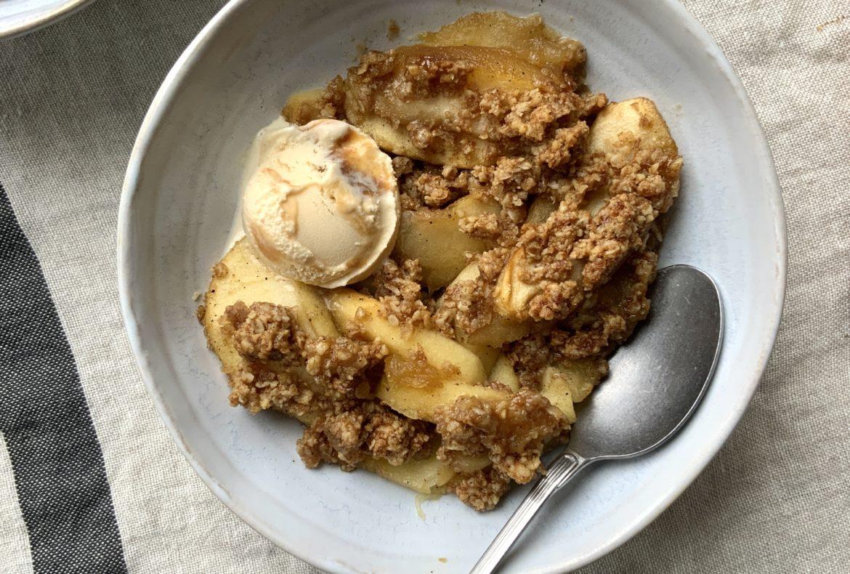 Receta-crumble-de-manzana-sin-gluten